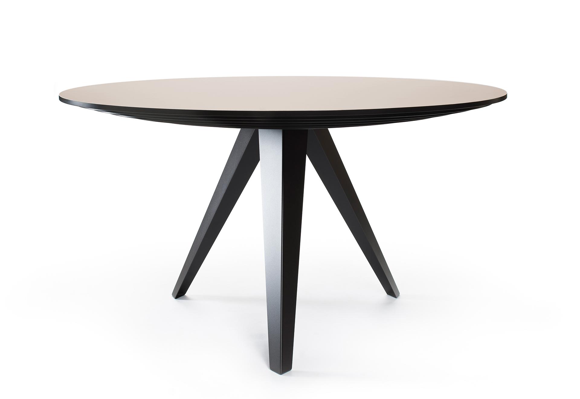 Ronde Eettafel 140 Cm Zwart.Ronde Eettafel Belly L Kees Marcelis L Odesi Your Dutch Design