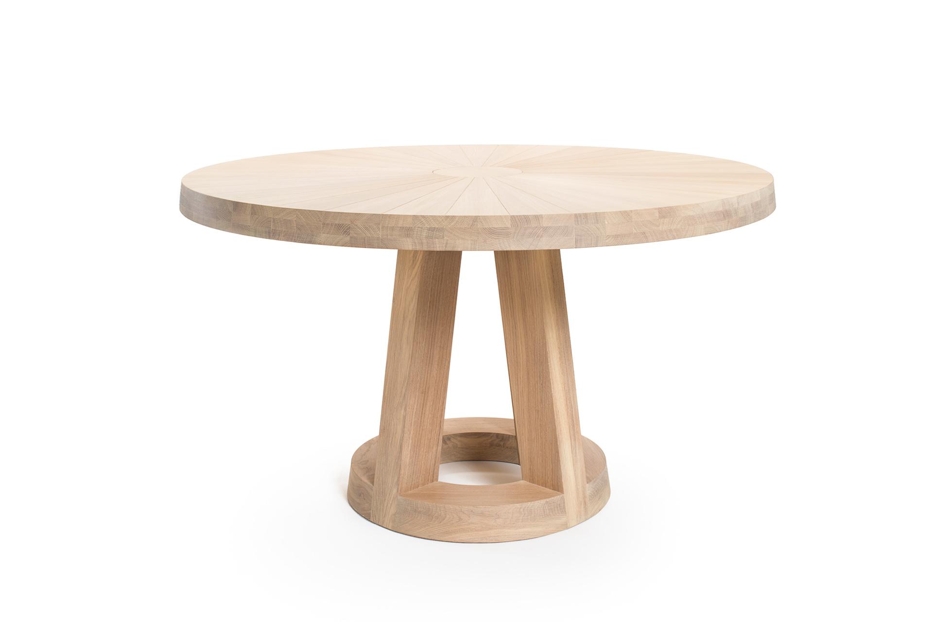 Ronde Eettafel 130 Cm Eiken.Solid Ronde Design Tafel L Remy Meijers L Odesi Your Dutch Design
