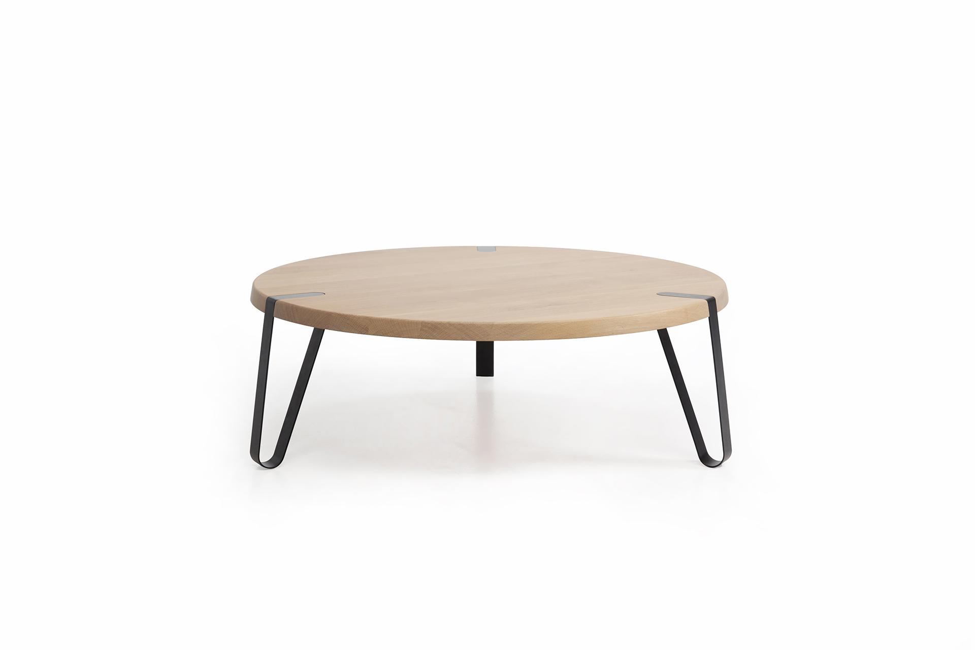 Salontafel Licht Eiken Rond.Level Rond Design Salontafel L Erik Remmers L Odesi Your Dutch Design