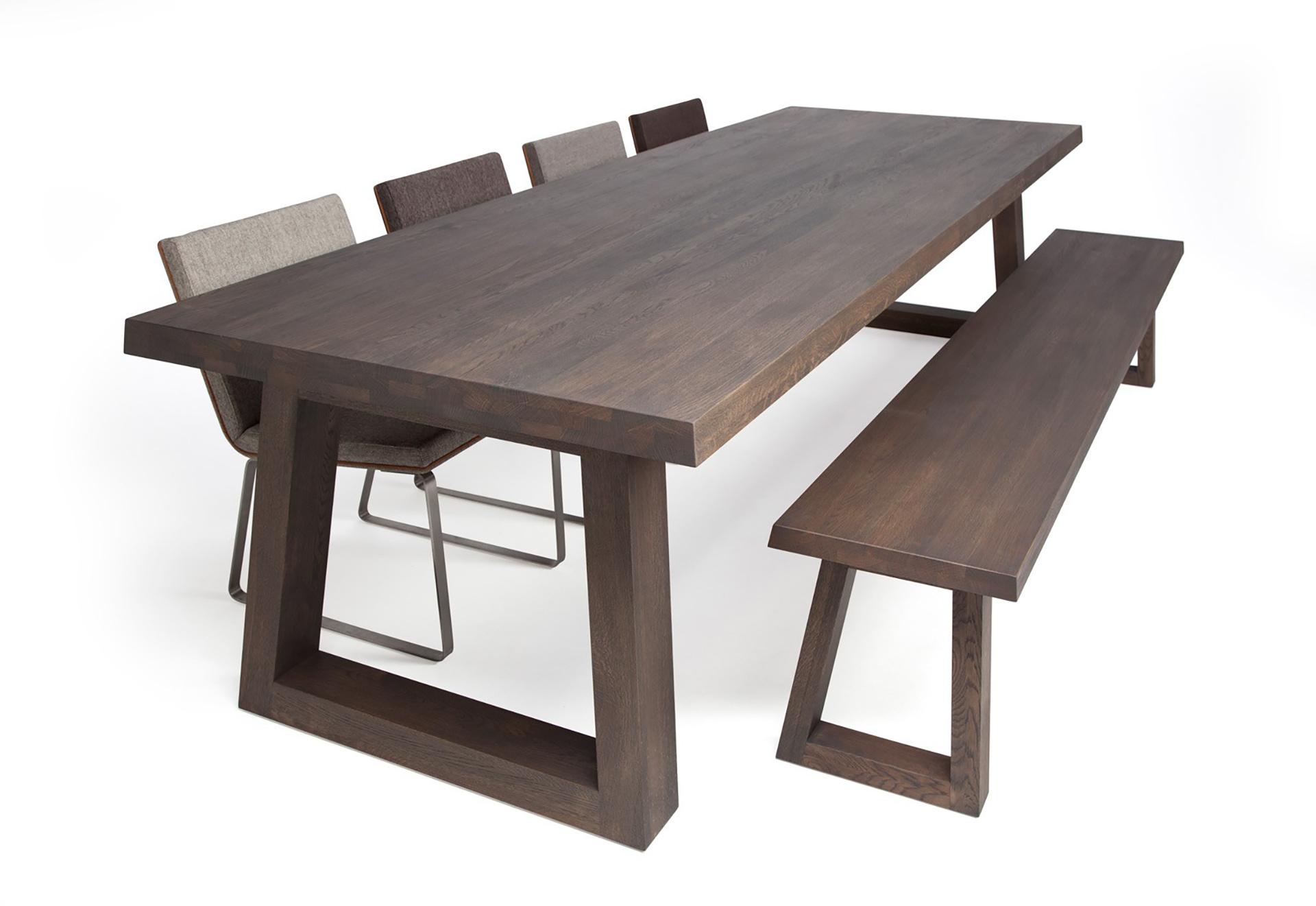 Grote eettafel 10 personen loungeset 2017 - Grote ronde houten tafel ...