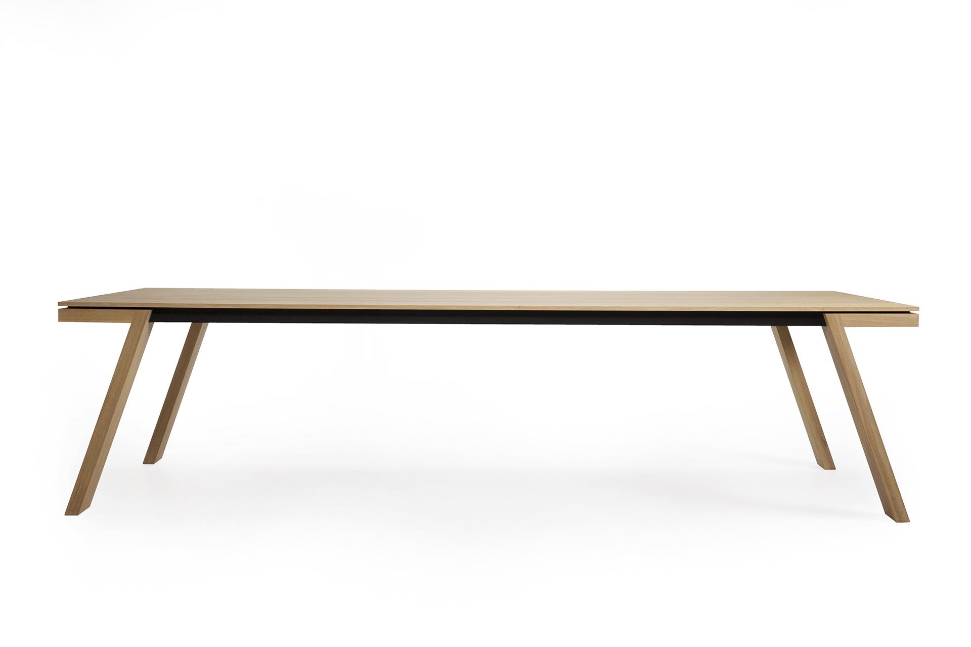Tafel Eiken 300 Cm.Design Eettafel Spring L Kees Marcelis L Odesi Your Dutch Design