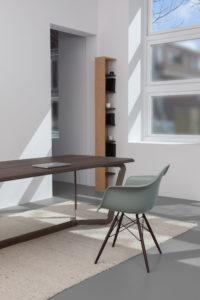 eettafel hout bureau design Bas Vellekoop